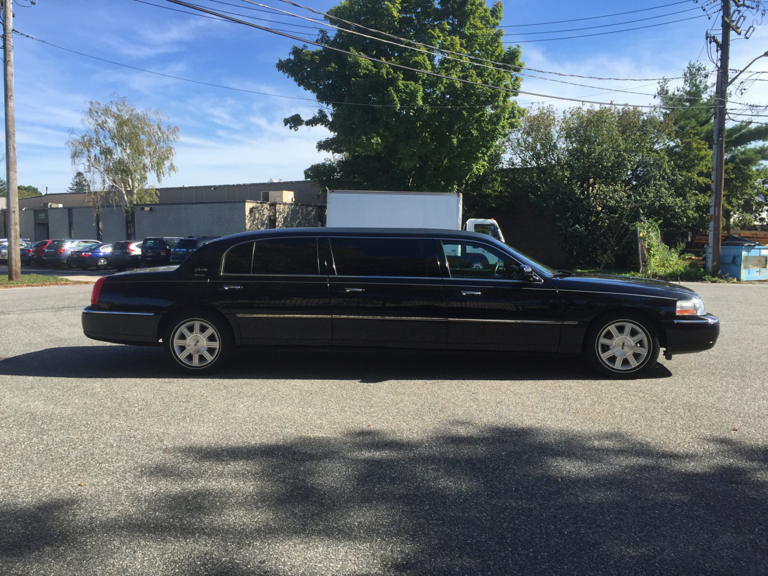 Where can you find a used funeral limousine?