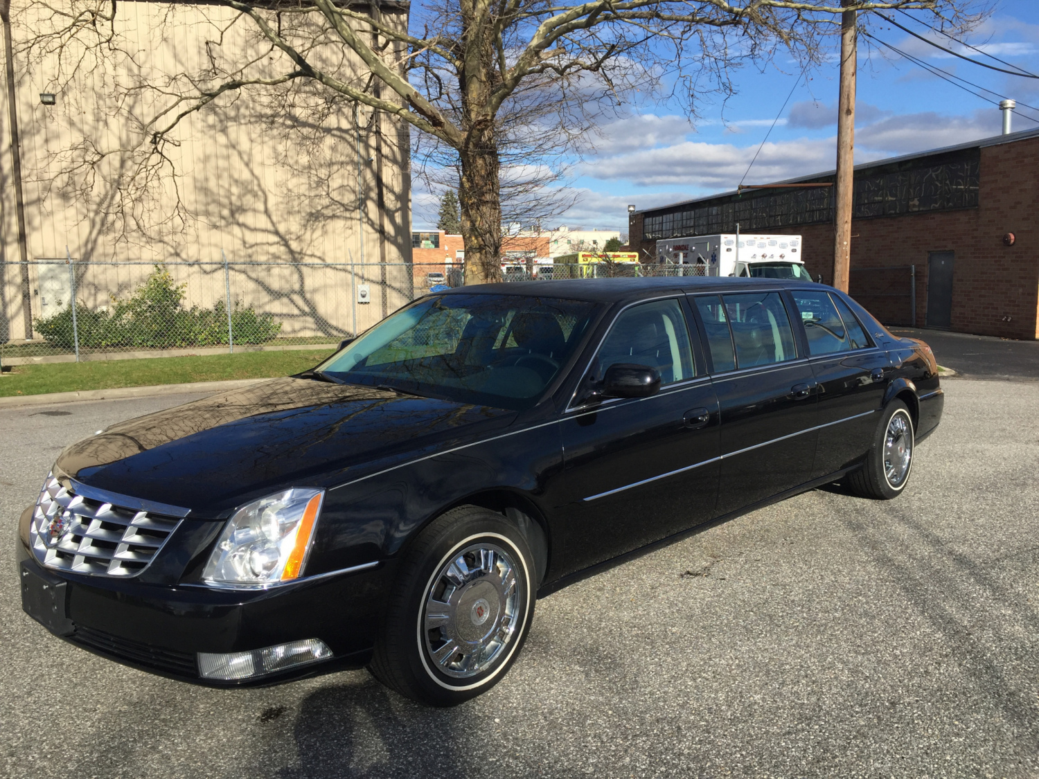Click photo thumbnails to see a larger view & 2011 CADILLAC SUPERIOR SIX DOOR USED FUNERAL LIMOUSINE - Specialty ...