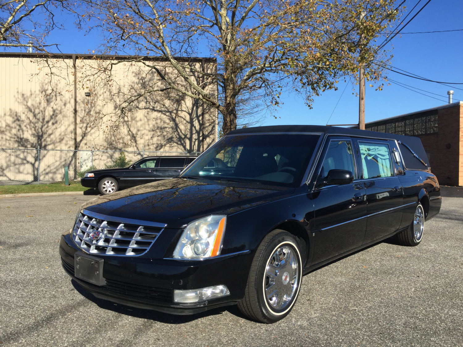 Type hearse condition used make cadillac