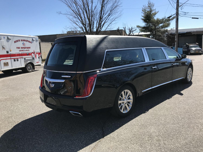 2019 Cadillac Federal Kensington Funeral Hearse Specialty