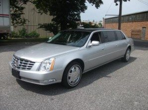 2009-cadillac-superior-six-door-used-funeral-limousine-silver-thumb