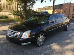 2010 CADILLAC SUPERIOR USED SIX DOOR FUNERAL LIMOUSINE
