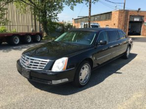 2011 CADILLAC FEDERAL SIX DOOR USED FUNERAL LIMOUSINE