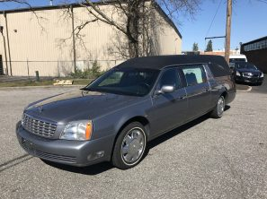 2004 CADILLAC SUPERIOR STATESMAN USED FUNERAL HEARSE