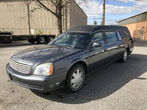 2003 CADILLAC SUPERIOR STATESMAN USED FUNERAL HEARSE