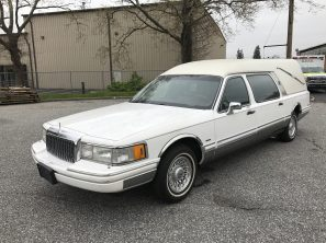 1994 LINCOLN EUREKA USED FUNERAL HEARSE