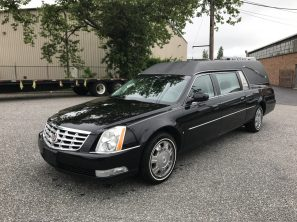2010 CADILLAC SUPERIOR STATESMAN USED FUNERAL HEARSE