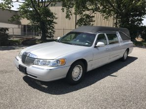 1998 LINCOLN FEDERAL USED FUNERAL HEARSE