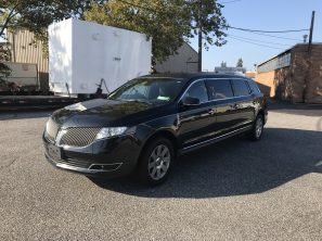 2015 LINCOLN MKT S&S SIX DOOR USED FUNERAL LIMOUSINE