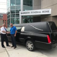 New Delivery: 2008 Cadillac Superior Statesman Funeral Hearse to Barquin Funeral Home