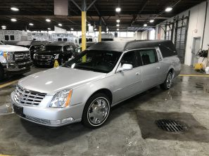 2007 CADILLAC SUPERIOR STATESMAN USED FUNERAL HEARSE