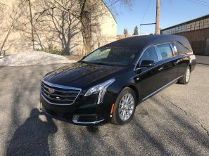 2018 CADILLAC S&S MEDALIST FUNERAL HEARSE