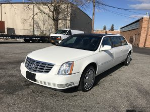 2007 CADILLAC SUPERIOR USED SIX DOOR FUNERAL LIMOUSINE