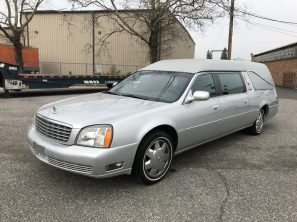 2005 CADILLAC S&S MEDALIST USED FUNERAL HEARSE