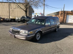 1996 LINCOLN EAGLE USED FUNERAL HEARSE