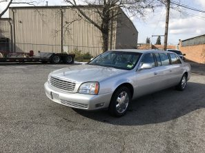 2005 CADILLAC SUPERIOR SIX DOOR USED FUNERAL LIMOUSINE