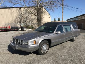 1995 CADILLAC S&S USED FUNERAL HEARSE