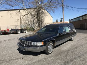1994 CADILLAC SUPERIOR USED FUNERAL HEARSE