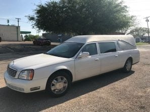 2003 CADILLAC FEDERAL HERITAGE USED FUNERAL HEARSE