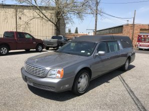 2001 CADILLAC SUPERIOR STATESMAN USED FUNERAL HEARSE