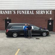 2018 Cadillac Federal Kensington Funeral Coach Delivered to Granby's Funeral Service, Inc.