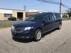 2013 LINCOLN MKT S&S USED FUNERAL HEARSE