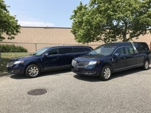 2013 LINCOLN HEARSE & LINCOLN LIMOUSINE PAIR