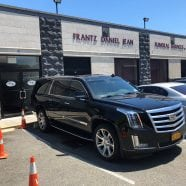 2015 Cadillac Escalade ESV Lead Car Delivered to Frantz Daniel Jean Funeral Services