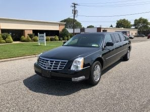 2009 CADILLAC SUPERIOR USED SIX DOOR FUNERAL LIMOUSINE