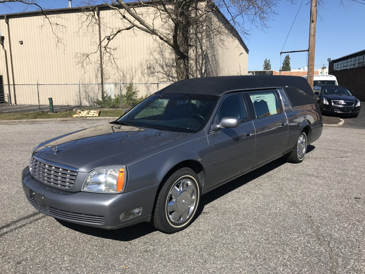2004 Cadillac Superior Statesman Used Funeral Hearse