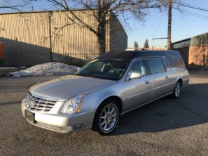 2011 CADILLAC SUPERIOR STATESMAN USED FUNERAL HEARSE