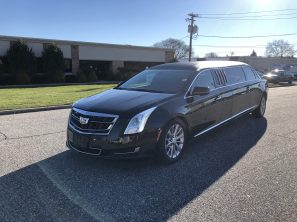 "2016 CADILLAC EAGLE 70"" USED SIX DOOR FUNERAL LIMOUSINE"