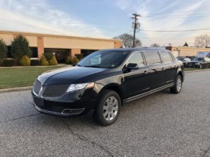 2013 LINCOLN SUPERIOR SIX DOOR TRUNK USED FUNERAL LIMOUSINE