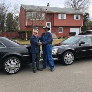 New Delivery: 2009 and 2010 Funeral Limousines to Johnson Funeral Home