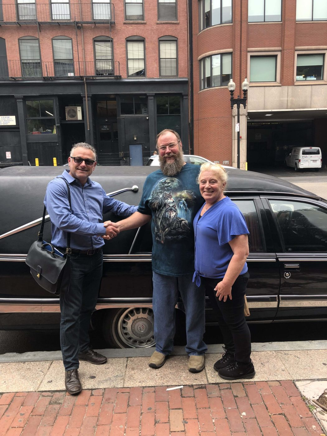 New Delivery: 1994 Chevy Caprice Classic Used Hearse Delivered to Haunted House in Maine