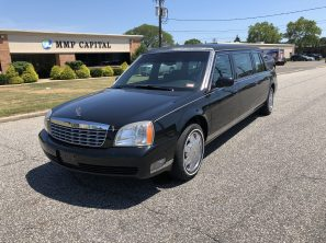 2004 CADILLAC PRESIDENTIAL USED SIX DOOR FUNERAL LIMOUSINE