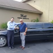 New Delivery: 2009 Cadillac Limousine Delivered to Matt Funeral Home in Utica, New York
