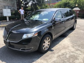 2015 LINCOLN S&S USED FUNERAL LIMOUSINE