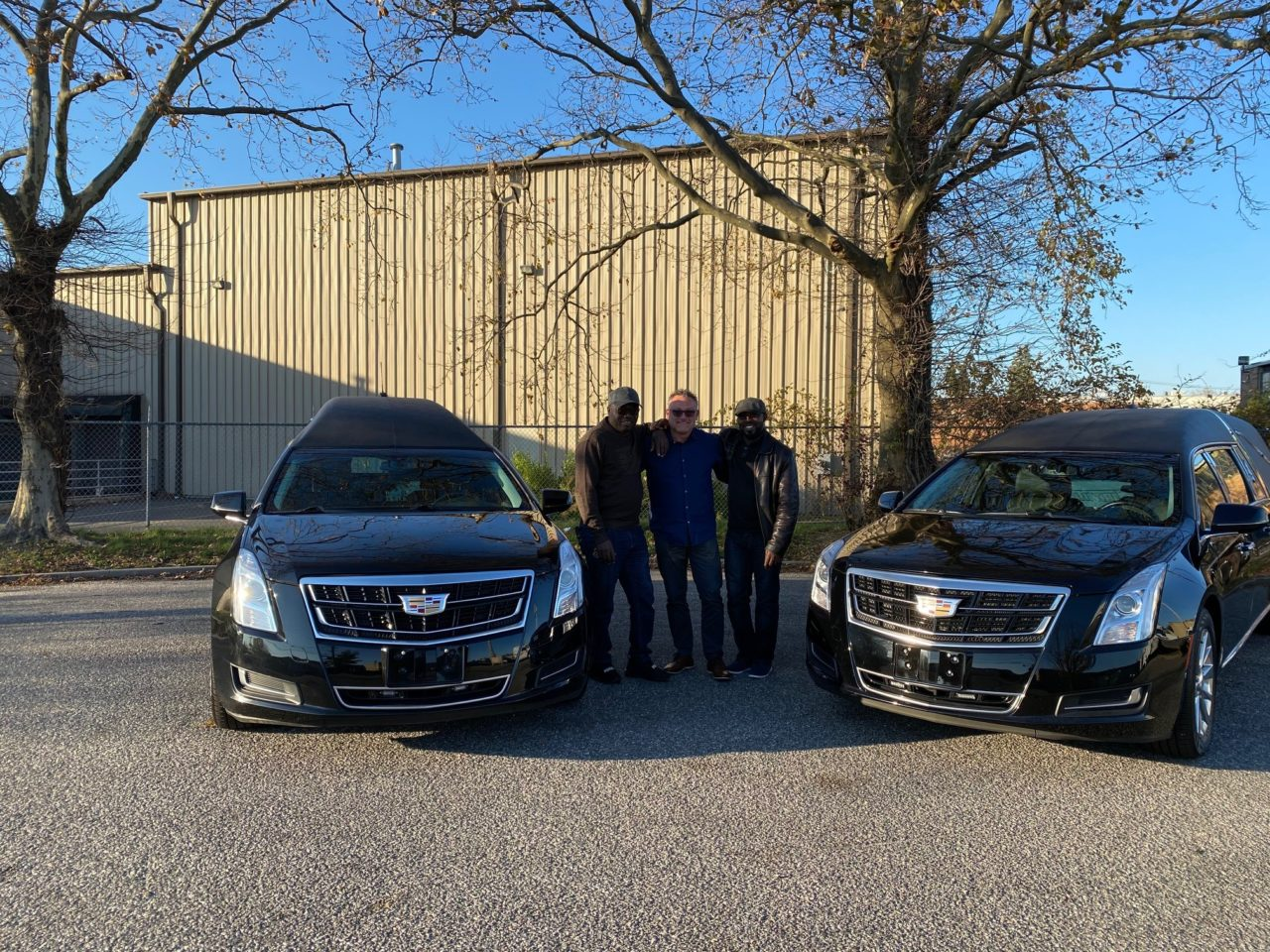 New Delivery: TWO 2016 Cadillac Funeral Hearses Delivered to Kumasi, Ghana