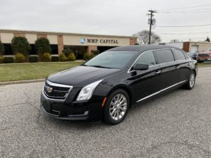 2016 CADILLAC S&S USED SIX DOOR FUNERAL LIMOUSINE