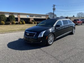 2017 CADILLAC EAGLE USED SIX DOOR FUNERAL LIMOUSINE