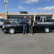 NEW DELIVERY: 2000 Cadillac Flower Car Delivered to the Joe Walla Band