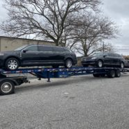 NEW DELIVERY: Two 2013 Lincoln MKT Limousines delivered to Gilmore Mortuary Services in Charlotte, NC