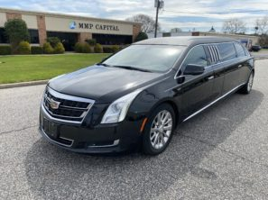 "2017 CADILLAC EAGLE 70"" USED SIX DOOR FUNERAL LIMOUSINE"