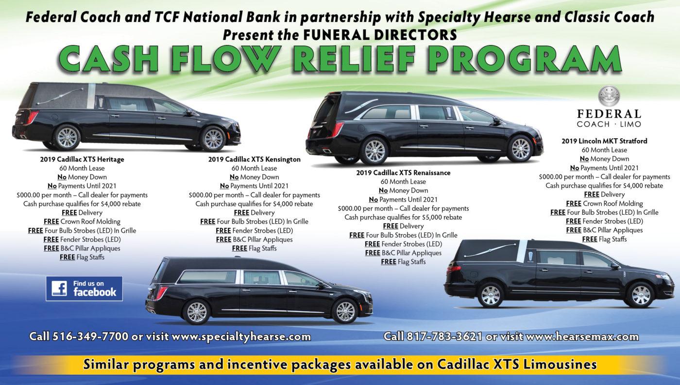 BIG NEWS: Funeral Directors Cash Flow Relief Program Announcement