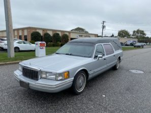 1991 LINCOLN USED FUNERAL HEARSE