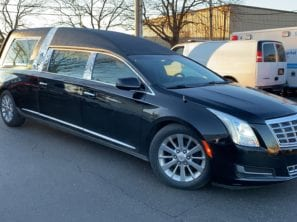 2014 CADILLAC S&S MASTERPIECE FUNERAL HEARSE